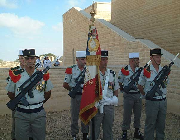Foreign Legion honor guard