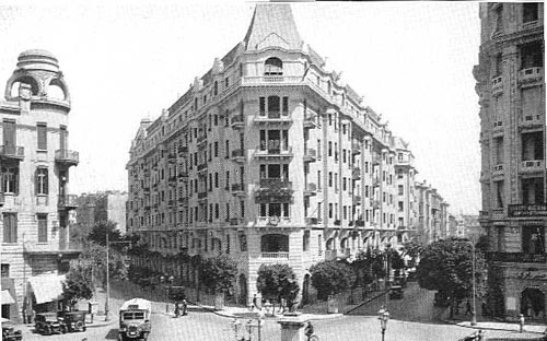 Baehler Building replaces Savoy Hotel circa 1927-9