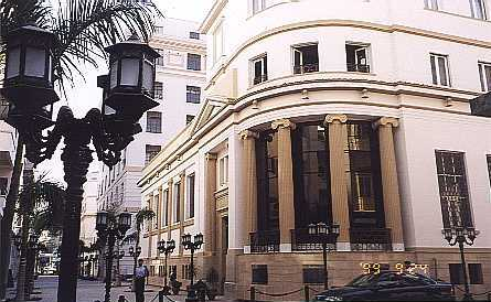 renovated bourse No. 4 Cherifein Street; remodeled pedestrain street, September 1999