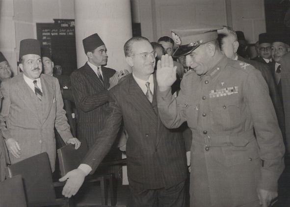 President Naguib Bourse 1953