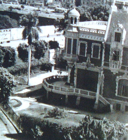 Cattaui House on the Nile (Kasr El Dubara) later sold to Kout al-Kouloub al-Demerdashia