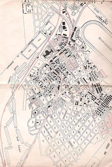 Heliopolis map 1913