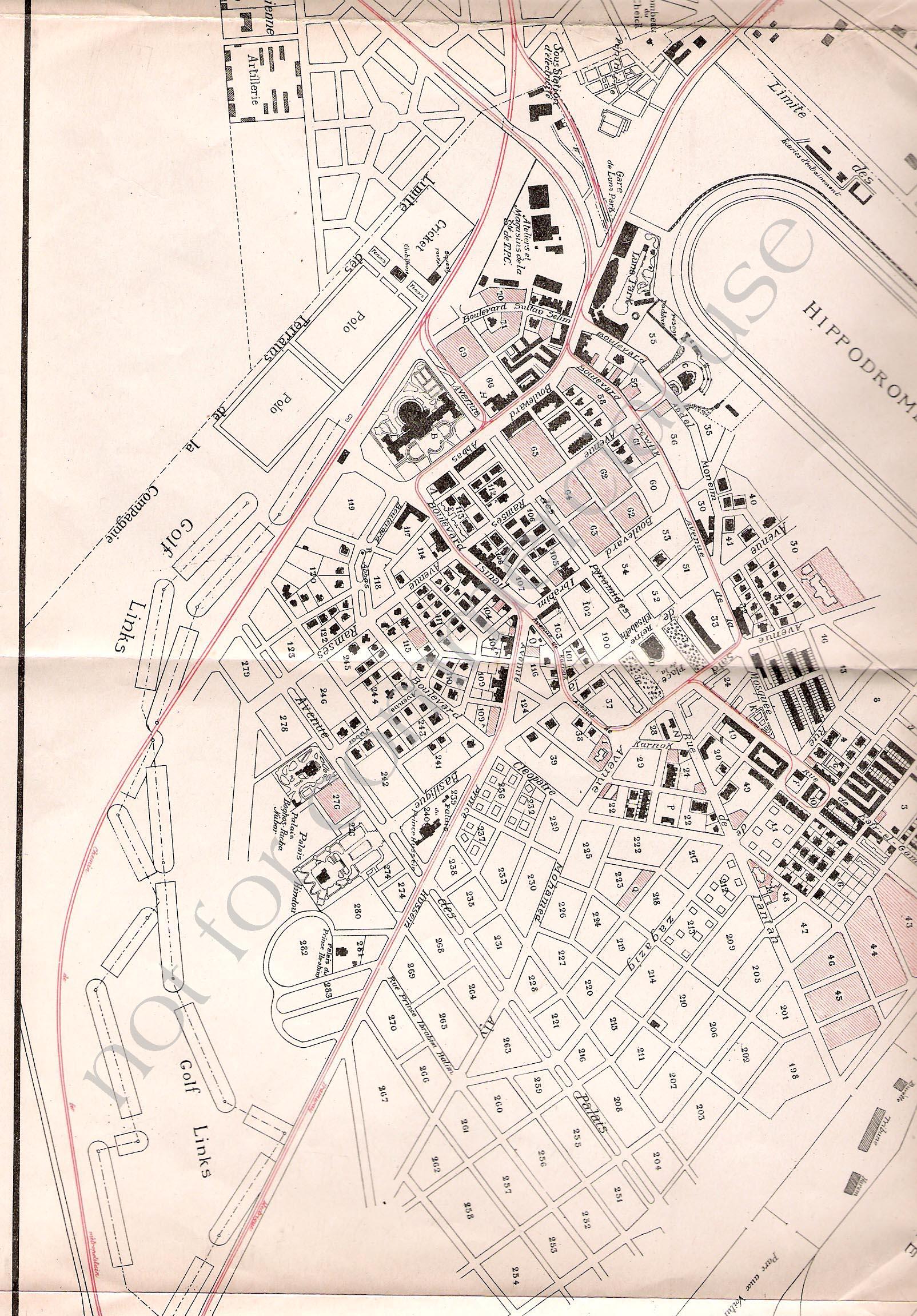 Heliopolis Map - Map of egypt heliopolis