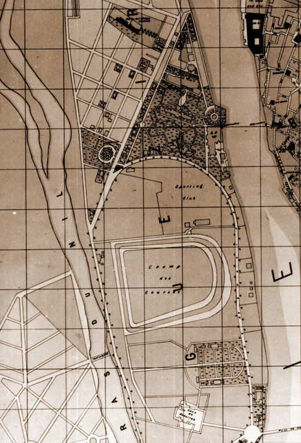 Map of zamalek circa 1910